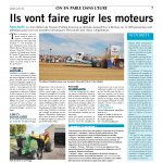 Tracteur Pulling Bernay - Paris-Normandie – 6 juin 2015