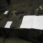 Découpe des tubes chassis